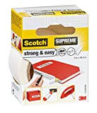 Scotch 3 m x 38 mm Supreme Strong and Easy Fabric Tape - White