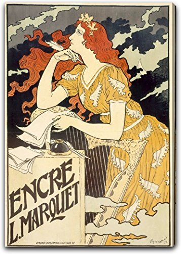 encre-l-marquet-by-eugene-samuel-grasset-16-x-21-gallery-wrapped-canvas-art-print-ready-to-hang