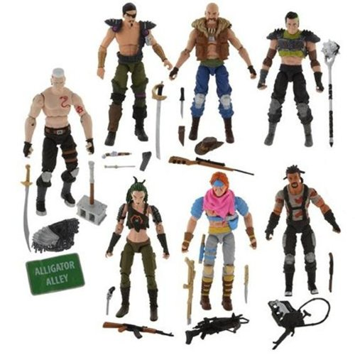 Boxed Exclusive Set (GI Joe Exclusive Action Figure 7Pack Boxed Set Dreadnoks Battle Set)
