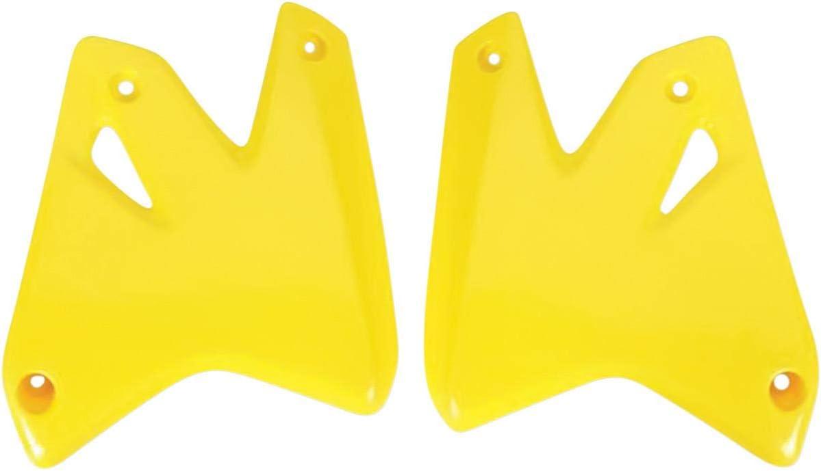 UFO Plastics Radiator Cover Yellow for Suzuki DRZ400 00-09