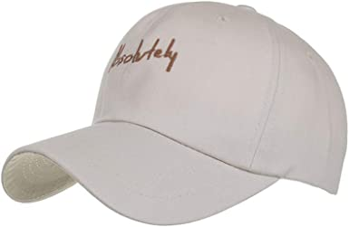 BODOAO Hats Cap Womens Mans Cotton Embroidered Unisex Baseball Caps Adjustable