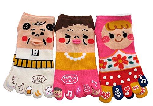 king-original-japanese-five-toe-ankle-socks-3-pairs-papa-mama-and-baby