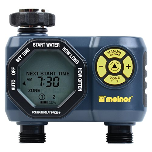 2-Zone Digital Water Timer
