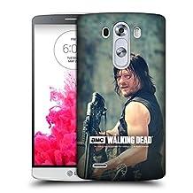 Official AMC The Walking Dead Archer Daryl Dixon Hard Back Case for LG G3 / D855 / D850 / D851
