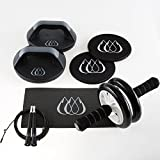 TeamSoda Complete AB Workout System - 4 Core Strengthening Tools - Unbelievable Value