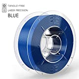 SainSmart PRO-3 Tangle-Free Premium 1.75mm PETG 3D Printer Filament, Blue PETG, 2.2 LBS (1KG) Spool, Dimensional Accuracy +/- 0.02mm