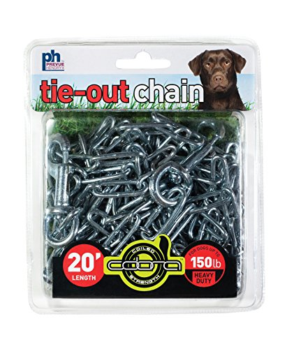 (Prevue Pet Products 2117 Heavy-Duty 20' Tie-Out Chain)