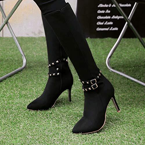Classic AIYOUMEI Classic Black Boot Black AIYOUMEI Boot Women's Classic AIYOUMEI Women's Women's ZOZn1Az