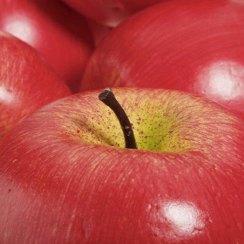 soothiing 6Artificial de Tamaño Grande), diseño de manzana, color rojo