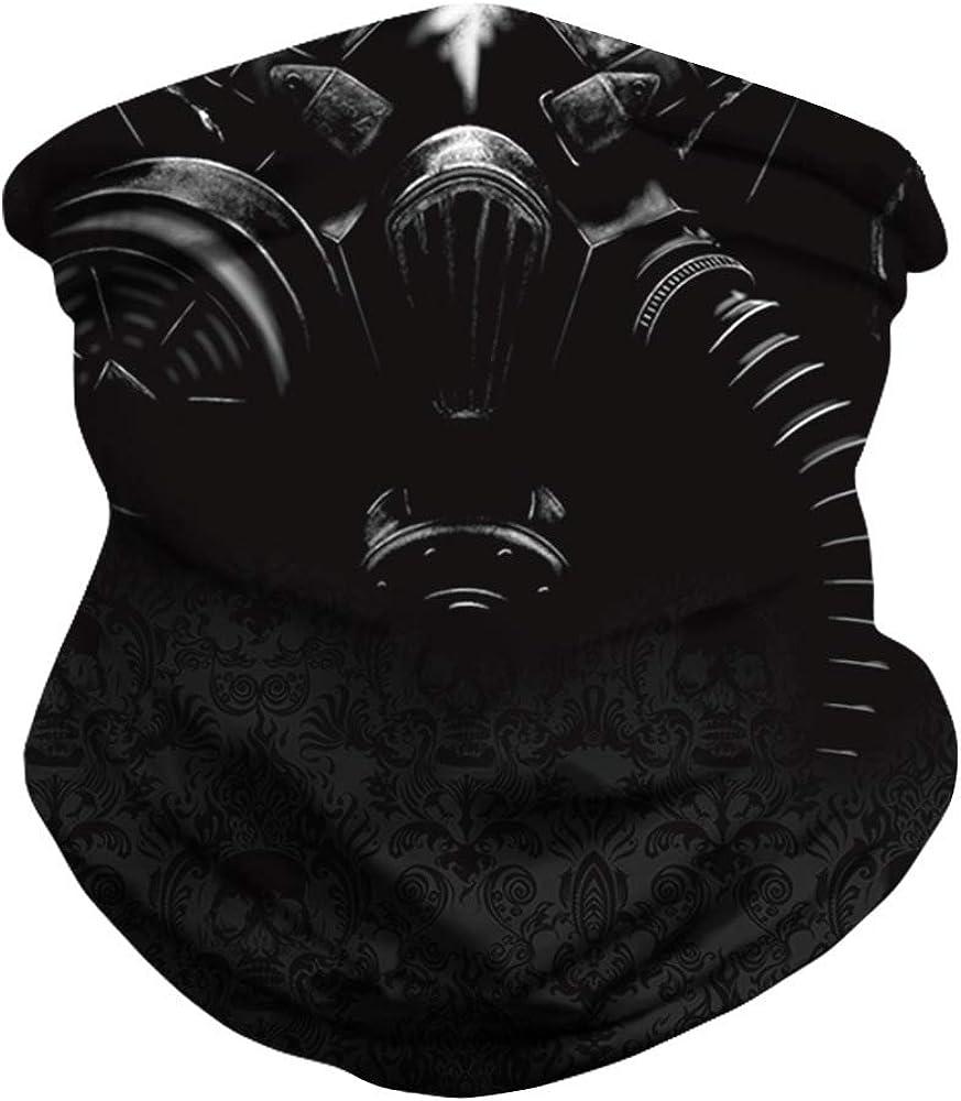Face Mask Custom 3D Seamless Half Face Bandanas Balaclava (012)