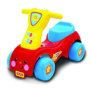Fisher Price SK-8338 – FP LP Push and Scoot Vehículo Ride On, niño