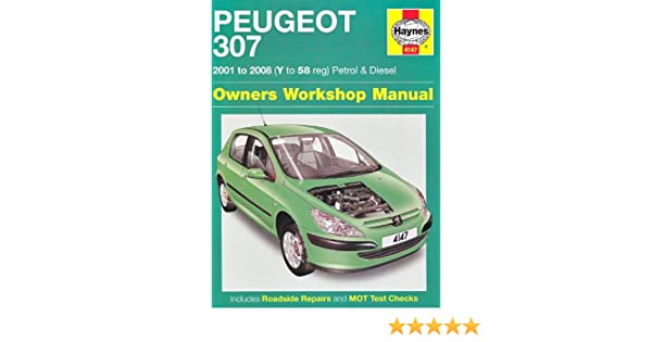 Peugeot 307 Petrol and Diesel Service and Repair Manual: 2001 to 2008 Service & repair manuals: Amazon.es: Martynn Randall: Libros en idiomas extranjeros