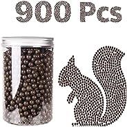 Slim Panda 600/1000/1200/1800 Pcs Clay Slingshot Ammo Ball 3/8 inch, 9-10mm Hard Clay Slingshot Ammo, Biodegra