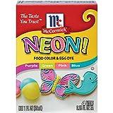 McCormick Neon Assorted Food Color, 1 fl oz
