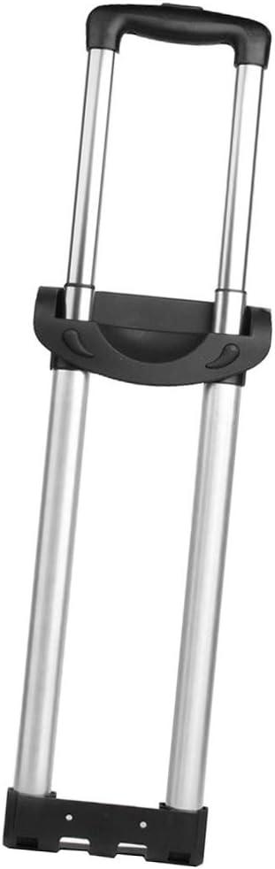 SunniMix Varilla de Maleta Accesorios de aleación de Aluminio Rod Handle Repair Parts para Rockland G003 - Negro-Dos Barras