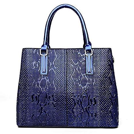 69ddcec41a54 Amazon.com: Fashion PU Leather Women Bag Ladies Luxury Snake ...