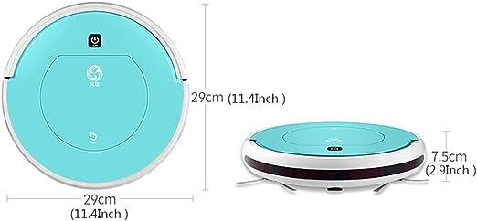 Robot Aspirador Inteligente superfino, Fuerte succión 7,5 cm Slim ...