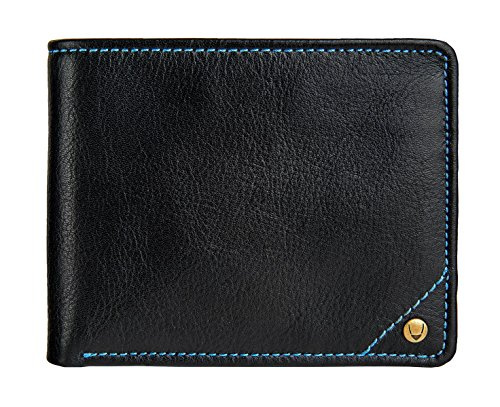 Hidesign Angle Stitch RFID Blocking Multi-Compartment Leather Wallet ()