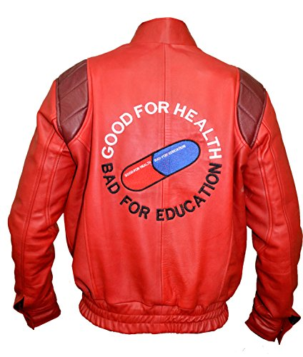 AKIRA KANEDA Leather jacket ,Capsule and text manga Katsuhiro Otomo Sheep,XXS-3XL free shipping