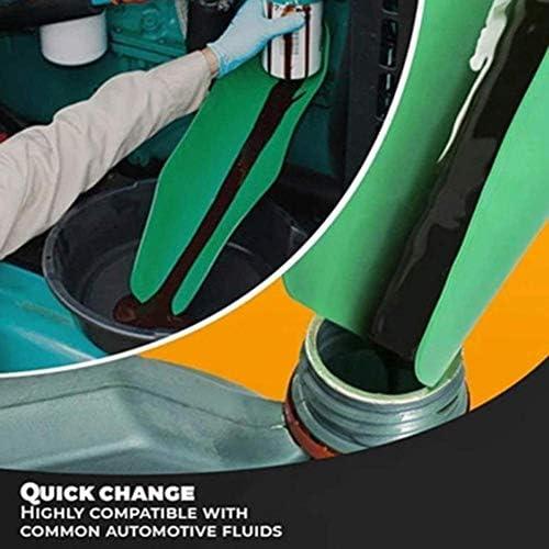vogueyouth Flexibler Trichter wiederverwendbarer Klappgummi Flexibles Wasser/öl-Ablasswerkzeug /Ölf/ührungsplatte f/ür den /Ölwechsel von Autos 50 x 20 cm 37 x 17 cm