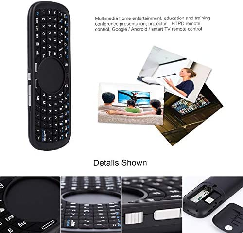 Bluetooth Keyboard Mini 2.4Ghz Wireless Null Mouse Keyboard for Enabled Devices