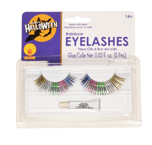 Rubies Rainbow Eyelashes (Star Brite Costume)