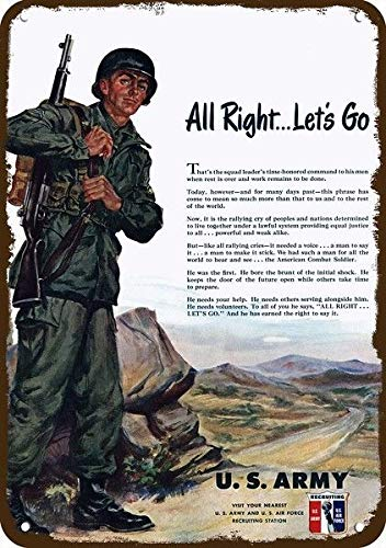 Amazon.com: Yilooom 1951 U.S. Army Soldier Vintage Look ...