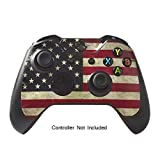 Skins Stickers for Xbox One Games Controller - Custom Orginal Xbox 1 Remote Controller Wired Wireless Protective Vinyl Decals Covers - Leather Texture Protector Accessories - Battle Torn Stripes