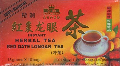 Red Date (Jujube) Longan Instant Herbal Tea - 15g X 10 -