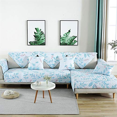 LAZ Couch Cover, Sofa Cover Couch Covers Sectional Anti-Slip Sofa Slipcover for Dogs Cats Pet Love Seat Recliner (Sold by Piece/Not All Set) (Color : I, Size : 90x120cm(35x47inch))