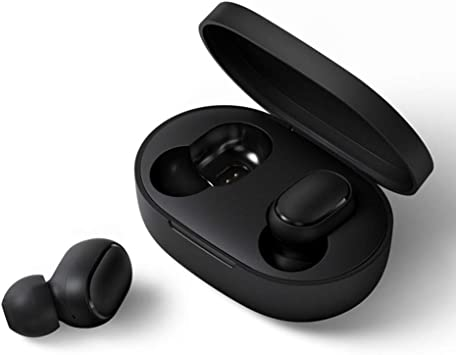 Amazon Com Xiaomi Mi Airdots Wireless Headphones Bluetooth V5 0 True Wireless Stereo Wireless Earphones With Wirelss Charging Case 12hours Battery Life Redmi Airdots