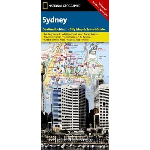 Sydney (National Geographic Destination City Map) - 51ql09vBNpL. SS500 - Getting Down Under Travel Guides