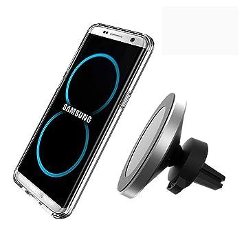 LBB - Cargador de Coche inalámbrico para Samsung S10, S9, S8 ...