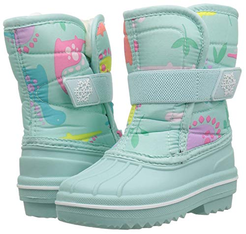 The Children's Place Girls Snow Boot, Mint Tea, TDDLR 6 Child US Toddler by The Children's Place (Image #5)