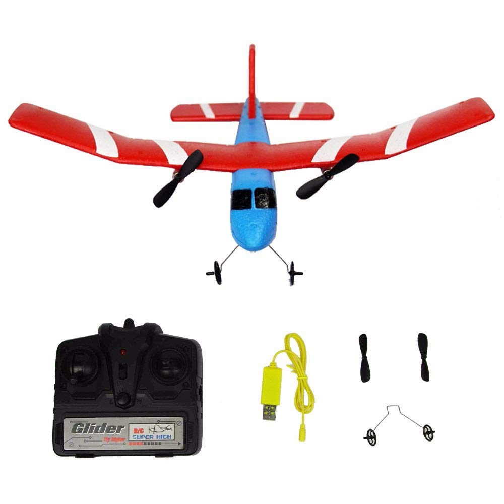 RC FX-805 Fly Bear Glider 2.4G 2CH RC Airplane Fixed Wing Plane Outdoor Toys by DONGKER