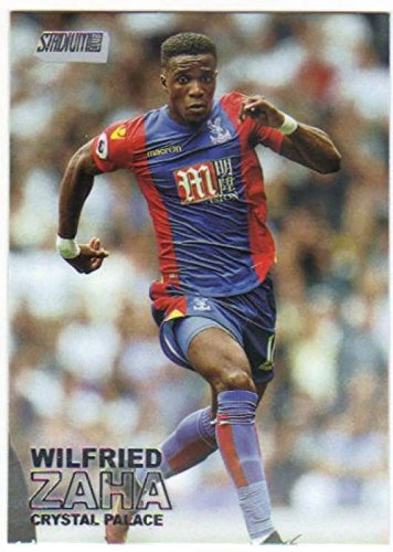 2016-17 Topps Stadium Club EPL Premier League Soccer #17 Wilfried Zaha Crystal Palace