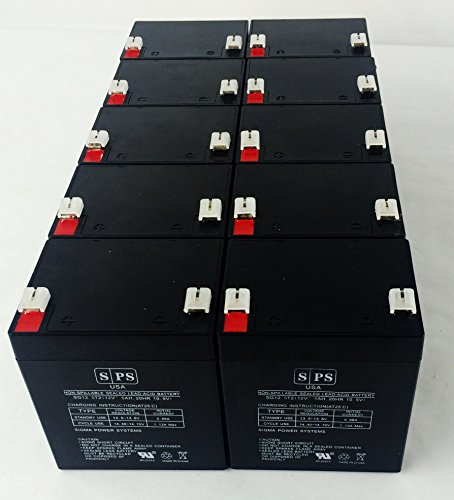 (12v 5Ah HP R3000 XR UPS Replacement Battery SPS Brand (10 Pack))