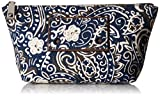 Marc Jacobs Paisley Cosmetics Trapezoid Cosmetic Bag, Rail Blue Multi, One Size