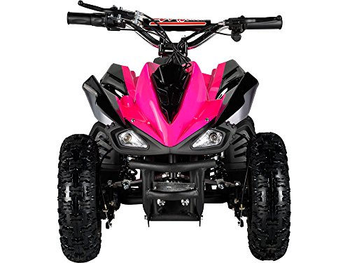Outdoor Kids Children Mars 24V Pink Mini Quad ATV Dirt Motor Bike Electric Battery Powered