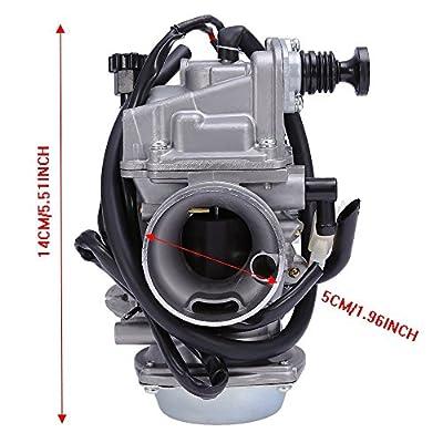 Carburetor for Honda TRX 350 TM FM FE TE TRX300 TRX400 FW TRX450 ATC 250 SX TRX450 FE FM Foreman Carb: Automotive