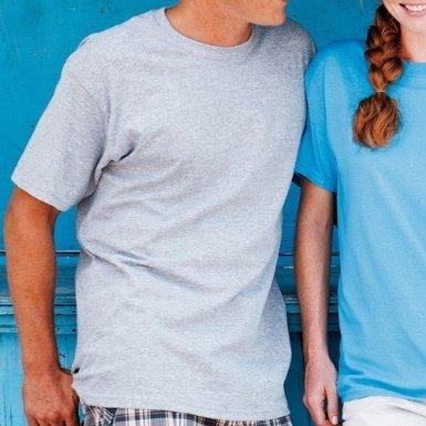 Gildan 5000pesado algodón adultos camiseta Rosa diseño de heliconia X-Large Azul - Indigo Blue