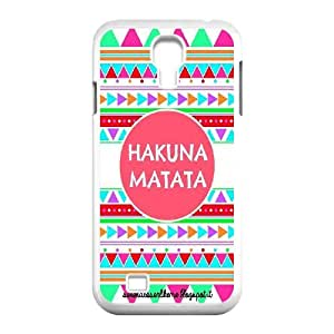 CHENGUOHONG Phone CaseThe Lion King,No Worries Hakuna Matata For SamSung Galaxy S4 Case -PATTERN-18