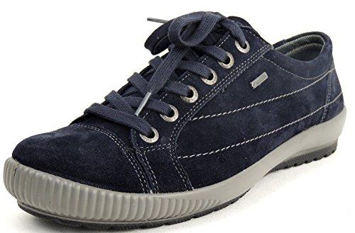 Legero ocean Mujer Azul Cordones Para De Zapatos Piel 8qO01r8w
