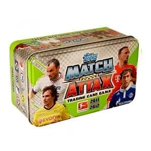 Topps TO302 Match Attax - Juego de cartas intercambiables sobre fútbol (temporada 2011-2012)