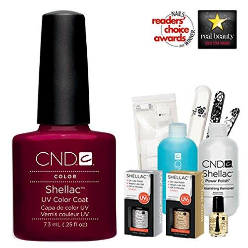 CND Shellac Decadence Starter Kit