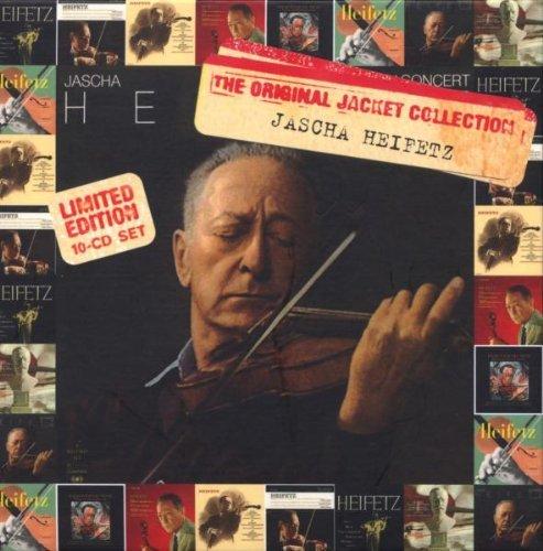 Jascha Heifetz, The Original Jacket Collection by Jascha Heifetz