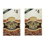 Natural Brew #4 Coffee Filters (2)