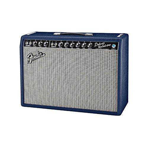 fender-65-deluxe-reverb-limited-edition-22w-1x12-guitar-combo-amp-navy-blue
