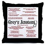 CafePress - Grey's Anatomy Quotes - Throw Pillow, Decorative Accent Pillow