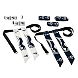Franklin Sports NFL Los Angeles Rams Youth Flag Football Set